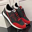 Черно-красные кроссовки Fendi, фото 8