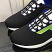 Черные кроссовки с зеленым лого Fendi, фото 6