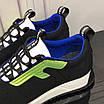 Черные кроссовки с зеленым лого Fendi, фото 9
