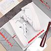 Белые кроссовки Prada, фото 7