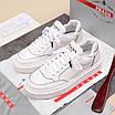 Белые кроссовки Prada, фото 9