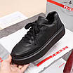 Черные кроссовки Prada, фото 9
