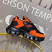 Оранжевые кроссовки Prada на массивной подошве, фото 7