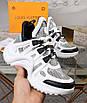 Черно-белые кроссовки Louis Vuitton, фото 3