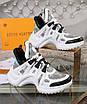 Черно-белые кроссовки Louis Vuitton, фото 5
