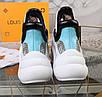 Черно-белые кроссовки Louis Vuitton, фото 6