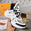 Черно-белые кроссовки Louis Vuitton, фото 7