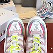 Бело-розовые кроссовки Louis Vuitton, фото 2