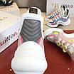 Бело-розовые кроссовки Louis Vuitton, фото 7