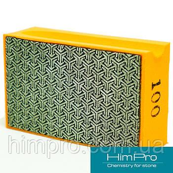 P100 Алмазные pad для ручной шлифовки и полировки мрамора, травертина, оникса, гранита, керамики, стекла