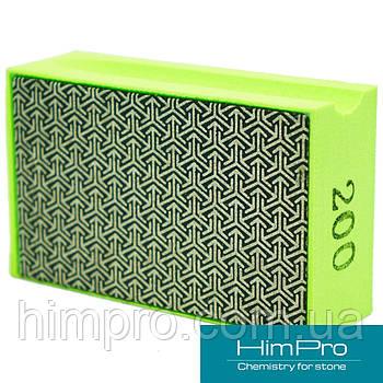 P200 Алмазные pad для ручной шлифовки и полировки мрамора, травертина, оникса, гранита, керамики, стекла