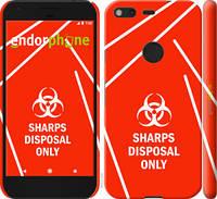 """Чехол на Google Pixel biohazard 27 """"4843c-400-2448"""""""