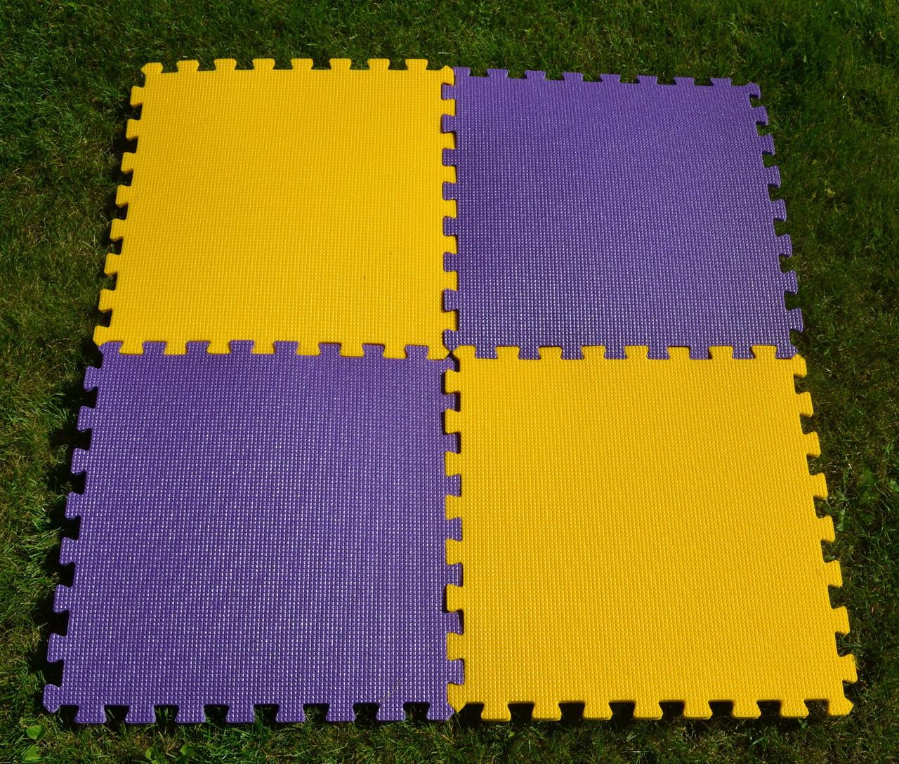 Напольное покрытие-пазлы в детскую (4 элемента)