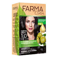 Крем-краска для волос Красный каштан без аммиака Farma Color