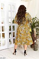 Платье женское миди больших размеров
