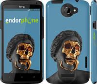 """Чехол на HTC One X Sculptures """"4845c-42-2448"""""""
