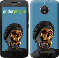 "Чехол на Motorola Moto E4 Sculptures ""4845u-981-2448"""