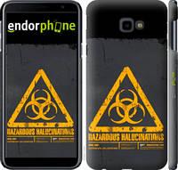 "Чехол на Samsung Galaxy J4 Plus 2018 biohazard 28 ""4846c-1594-2448"""
