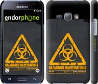 "Чехол на Samsung Galaxy J1 (2016) Duos J120H biohazard 28 ""4846c-262-2448"""