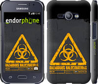 "Чехол на Samsung Galaxy J1 Ace J110H biohazard 28 ""4846c-215-2448"""