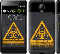 """Чехол на Lenovo Vibe C2 biohazard 28 """"4846c-397-2448"""""""