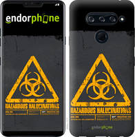 """Чехол на LG V40 ThinQ biohazard 28 """"4846u-1577-2448"""""""