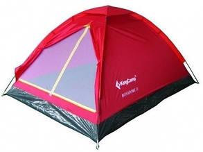 Палатка KingCamp Monodome 2(KT3016) (red), фото 2