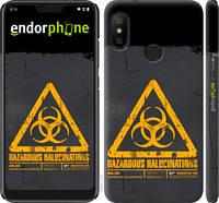 "Чехол на Xiaomi Redmi 6 Pro biohazard 28 ""4846c-1595-2448"""