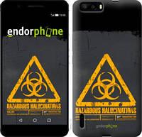 "Чехол на Huawei Honor 6 Plus biohazard 28 ""4846u-179-2448"""