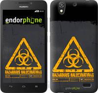 "Чехол на Huawei Ascend G630 biohazard 28 ""4846u-137-2448"""