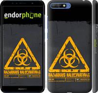 "Чехол на Huawei Y6 2018 biohazard 28 ""4846c-1637-2448"""