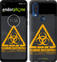 "Чехол на Motorola One Vision biohazard 28 ""4846u-1782-2448"""