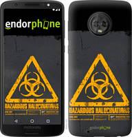 "Чехол на Motorola Moto G6 biohazard 28 ""4846u-982-2448"""