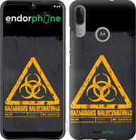 """Чехол на Motorola Moto E6 Plus biohazard 28 """"4846u-1780-2448"""""""