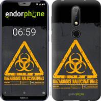 "Чехол на Nokia 6.1 Plus biohazard 28 ""4846u-1539-2448"""