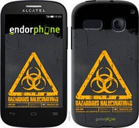 "Чехол на Alcatel One Touch Pop C3 4033D biohazard 28 ""4846u-323-2448"""