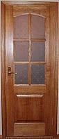 Межкомнатные двери из массива сосны со стеклом