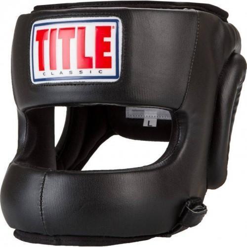 Бамперный шлем Title Classic Face Protector Headgear Black