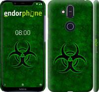 """Чехол на Nokia 8.1 biohazard 30 """"4848c-1620-2448"""""""