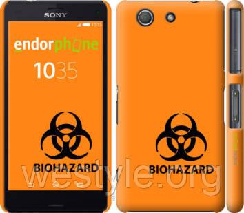 """Чехол на Sony Xperia Z3 Compact D5803 biohazard 33 """"4851c-277-2448"""""""
