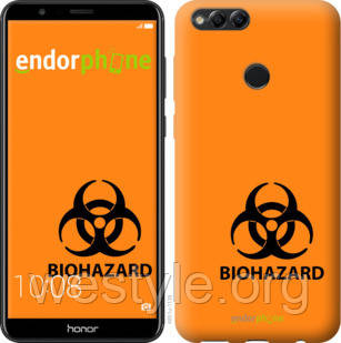 "Чехол на Huawei Honor 7X biohazard 33 ""4851u-1139-2448"""