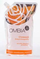 """Крем-мыло """"Мед-цветы Апельсина"""" запаска Ombia 750 мл"""
