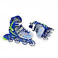 Роликовые коньки Nils Extreme NJ1812A blue, фото 10