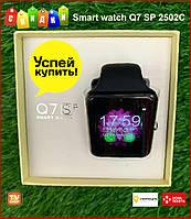 Умные смарт часы Smart watch Q7 SP 2502С с sim картой, фото 1