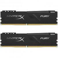 Модуль памяти для компьютера DDR4 16GB (2x8GB) 3733 MHz HyperX Fury Black Kingston (HX437C19FB3K2/16), фото 1