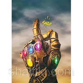 """""""Перчатка бесконечности Таноса (Марвел)"""" магнит виниловый с рисунком"""