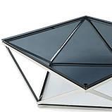 Журнальный стол CP-1 глянцевое тонированное стекло 80*80*45,5 Vetro Mebel, фото 6