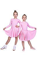 Бейсик для бальных танцев Dance&Sport  N 99  бифлекс Розовый