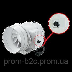 ВЕНТС ТТ 125 С - вентилятор для круглых каналов, фото 2