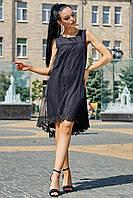 Летнее женское  платье цвет: черный, размер: M, L, XL, XXL